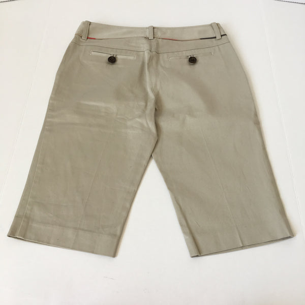 Burberry Beige Shorts Size US 6