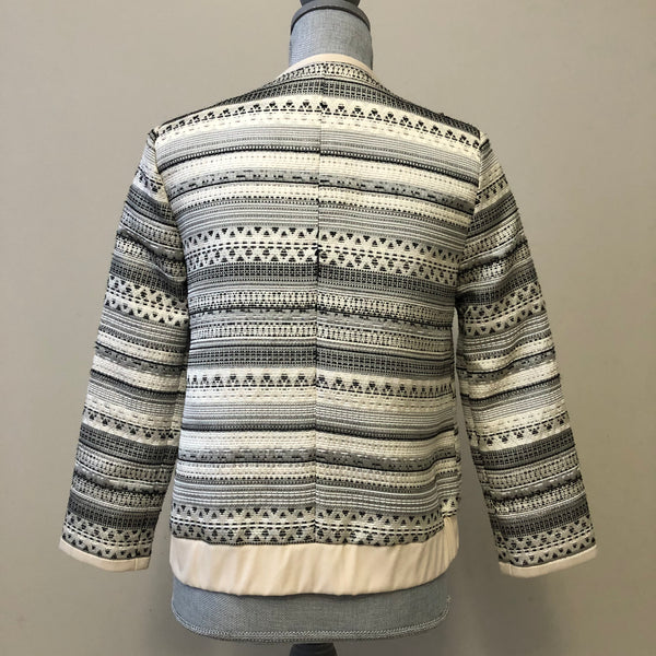 Parker Multicolor 3/4 Sleeve Jacket Size Small