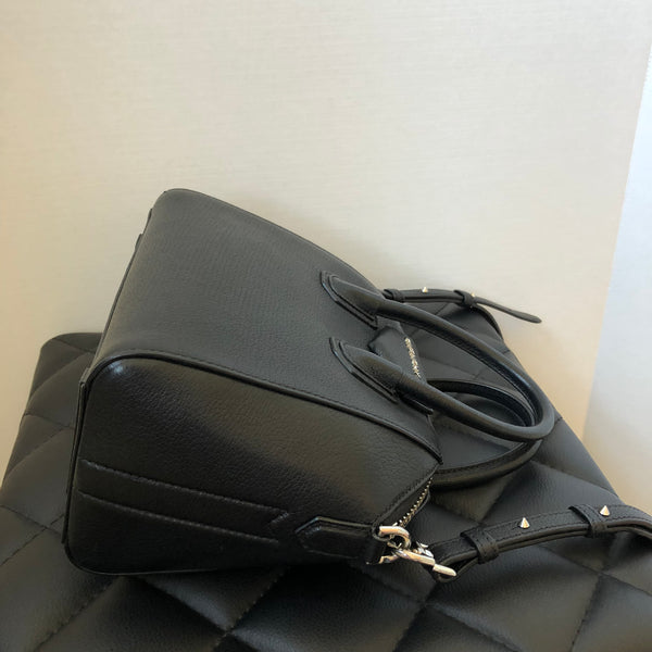 Givenchy Black Sugar Leather Mini Antigona Crossbody Bag