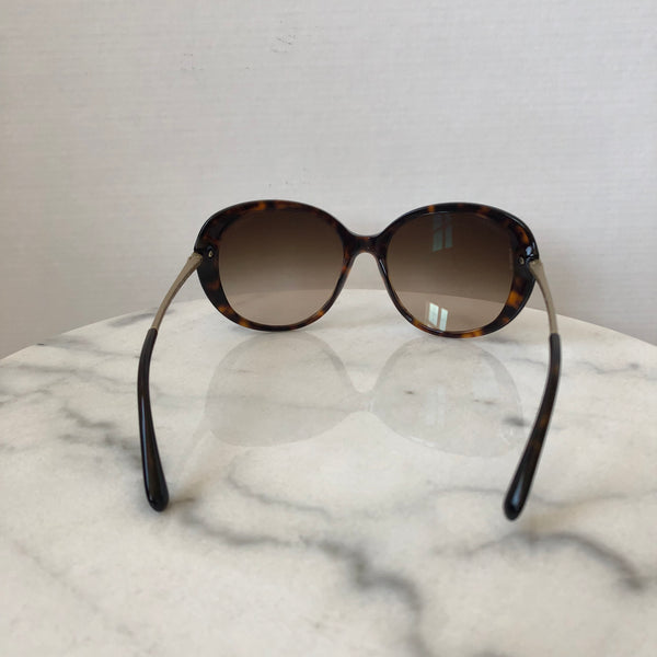 Chanel Bijou Dark Havana/Brown Gradient Sunglasses