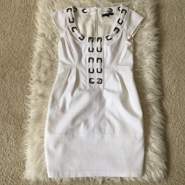 Nanette Lepore White Dress Size 4