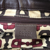 Gucci Brown Leather Shoulder Bag