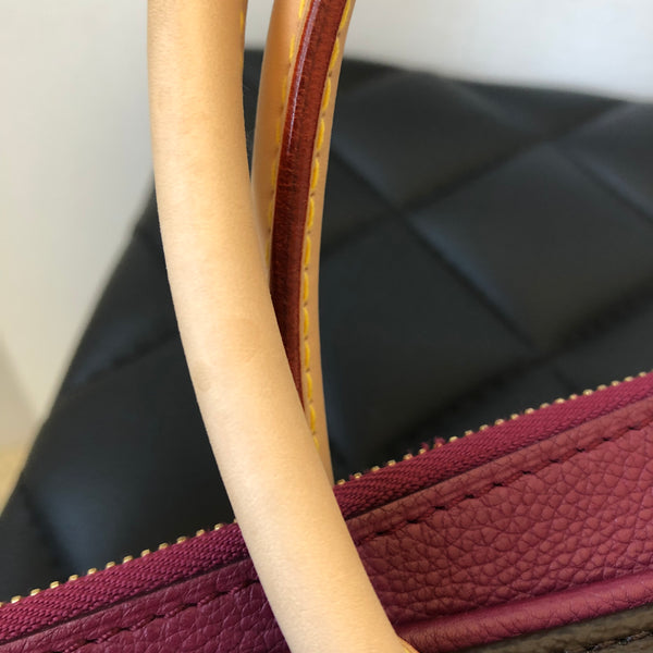 Louis Vuitton Monogram Aurore Pallas Shoulder Bag