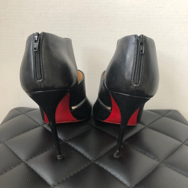 Christian Louboutin Black Sandals Size 40.5