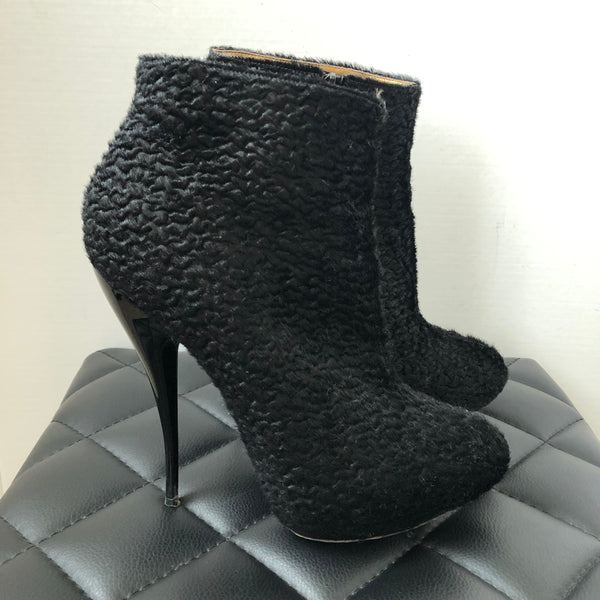 VIKTOR & ROLF Black Booties Size 39