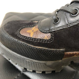 Louis Vuitton Black/Monogram LAUREATE PLATFORM DESERT BOOT Size 37.5
