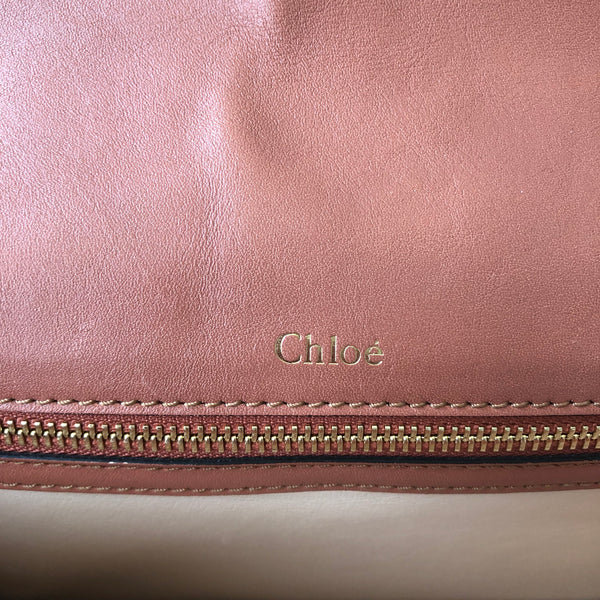 Chloe Salmon Shoulder/Crossbody Bag