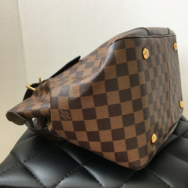 Louis Vuitton Damier Ebene Verona MM Shoulder Bag