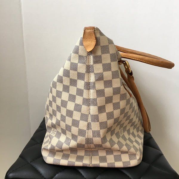 Louis Vuitton Damier Azur Saleya GM Shoulder Bag