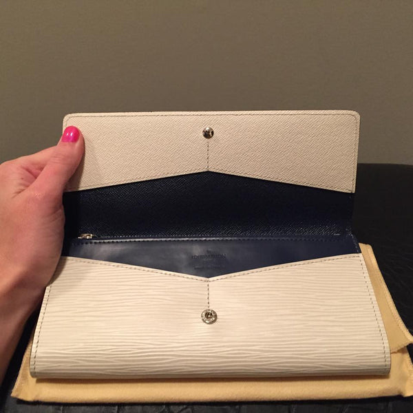 Louis Vuitton Epi Two-Tone Wallet