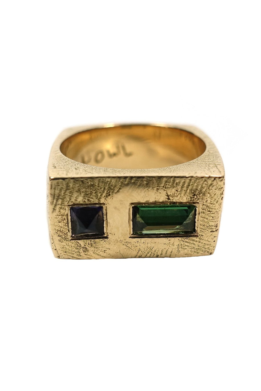 18K Gold Tourmaline Ring