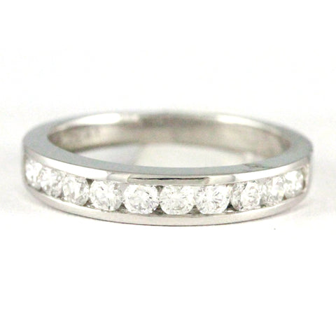 1 Platinum Diamond Anniversary Band, (0.52 tdw) 00010603