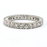 14kt. White Gold Diamond Eternity Band, (1.75 tdw)