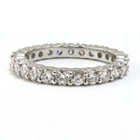 14kt. White Gold Diamond Eternity Band, (1.75 tdw) 00016414