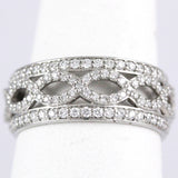 Platinum Diamond Engagement Ring, (0.75 tdw) #1871