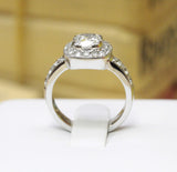 "<font color=""red""><b>SOLD</b></font><p>14k White Gold Diamond Engagement Ring, (1.77 tdw) #1882"
