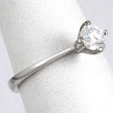 18k Diamond Solitaire Ring #2293