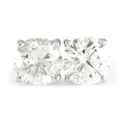 "14kt. White Gold Diamond Studs (0.70tdw, SI2-I1, GH, G-VG) <font color=""green""><b><i>Inquire within for price</i></b></font><p>"