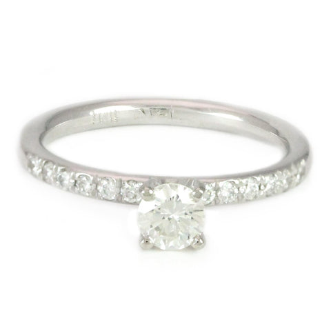 "<font color=""red""><b>SOLD</b></font><p>14k White Gold Diamond Engagement Ring, 0.65 tdw #3220"