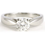 Platinum Diamond Engagement Ring, 0.75 tdw #720