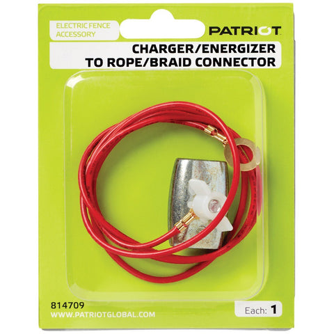 Rope/Braid to Energizer Connector