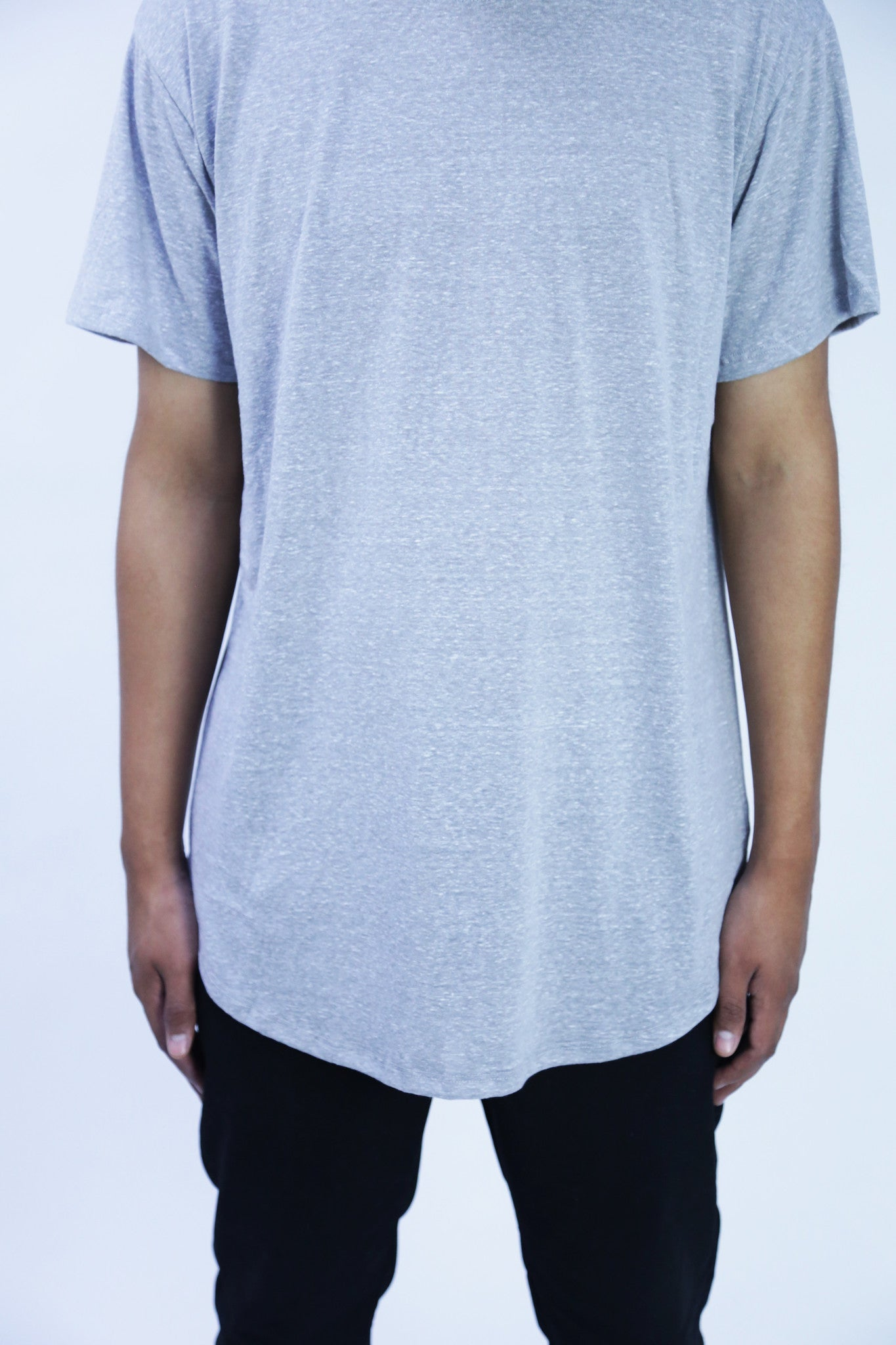 Space Gray Essential Baseball  Tee