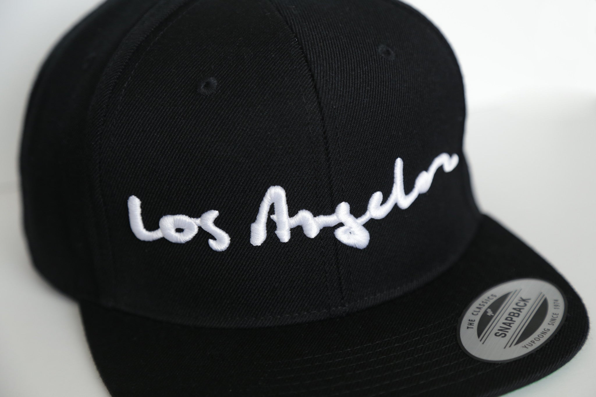 LOS ANGELES WOOL BLEND SNAPBACK