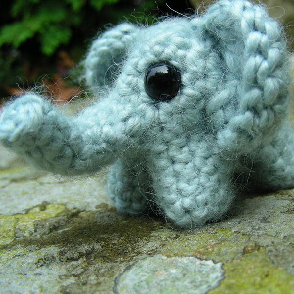Little Elephant Pattern (Crochet)