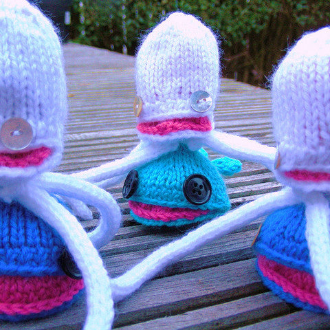 Squid & Whale Pattern (Knitting)