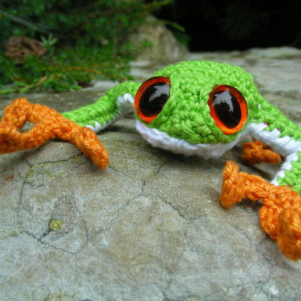 Tree Frog Pattern (Crochet)