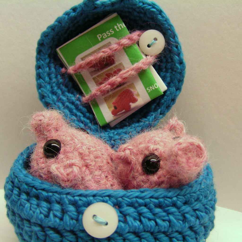 Pass The Piglets Pattern (Crochet)