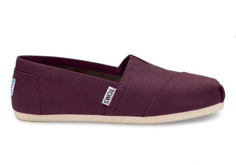 TOMS CANVAS ALPARGATAS WOMENS SHOES
