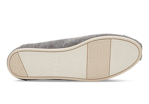 TOMS MULTI SPECKLE CHAMBRAY WOMENS SHOES