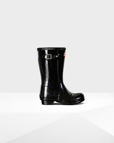 HUNTER ORIGINAL GLOSS KIDS BOOTS