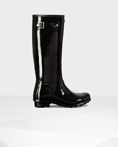 HUNTER ORIGINAL TALL GLOSS WOMENS BOOTS