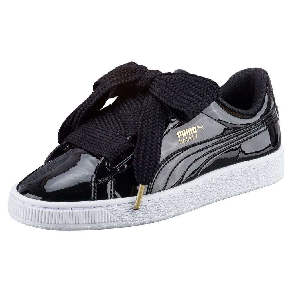 best loved f6417 c5d21 PUMA BASKET HEART PATENT WOMENS SNEAKERS