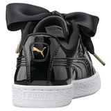 PUMA BASKET HEART PATENT WOMENS SNEAKERS