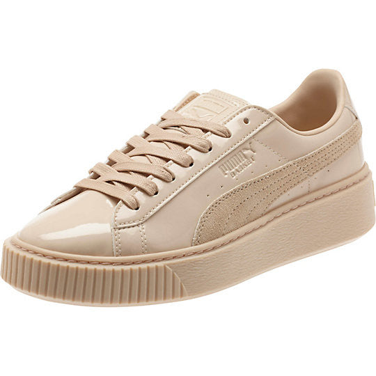 puma basket platform patent womens sneakers city streets. Black Bedroom Furniture Sets. Home Design Ideas