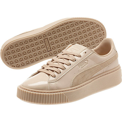 Puma Basket Platform Patent - Women Shoes