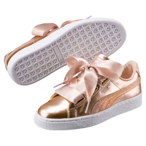 PUMA BASKET HEART LUNAR LUX KIDS SNEAKERS