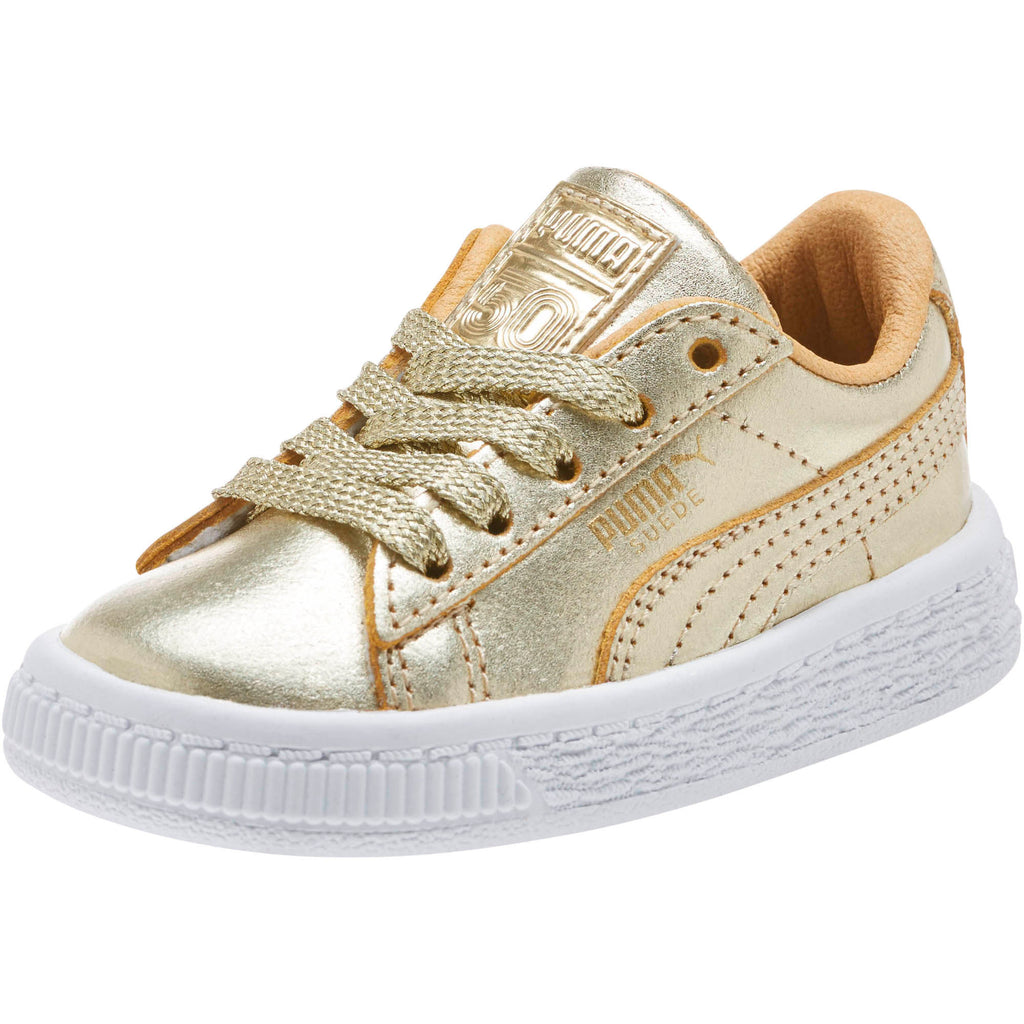 PUMA SUEDE 50TH TODDLERS SNEAKERS