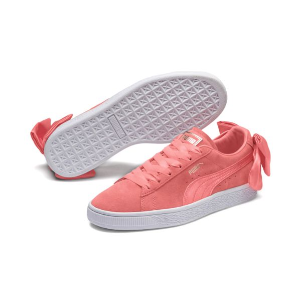 check out f4092 94b37 PUMA SUEDE BOW WOMENS SNEAKERS