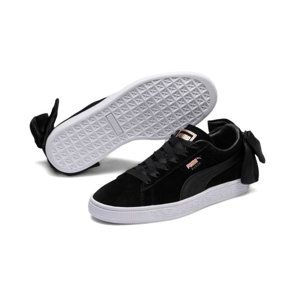 PUMA SUEDE BOW WOMENS SNEAKERS