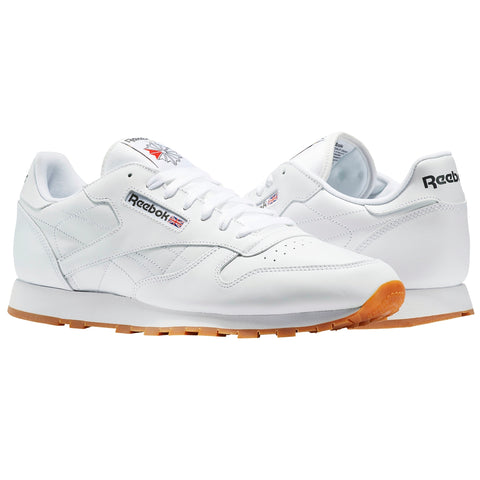 REEBOK CLASSICS LEATHER GUM MENS SNEAKERS