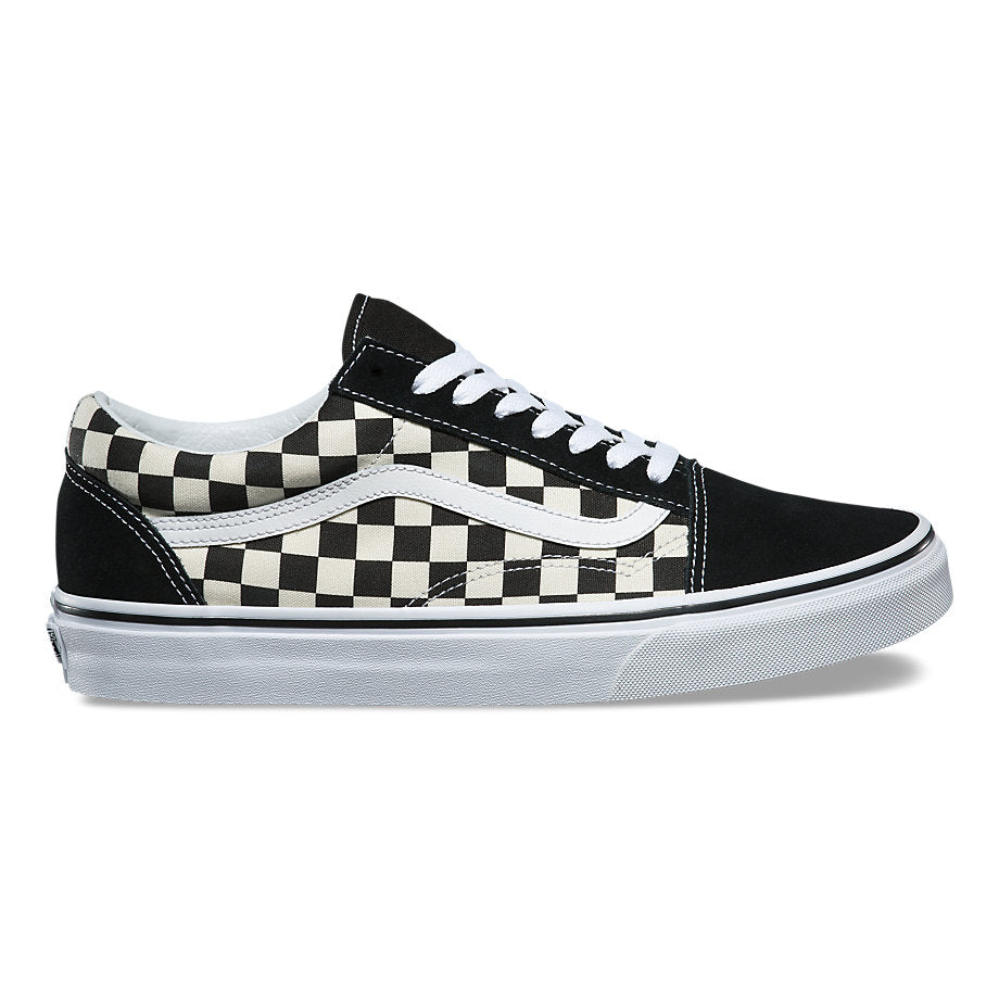 699e7eb41b VANS PRIMARY CHECK OLD SKOOL UNISEX SNEAKERS – City Streets Shoes