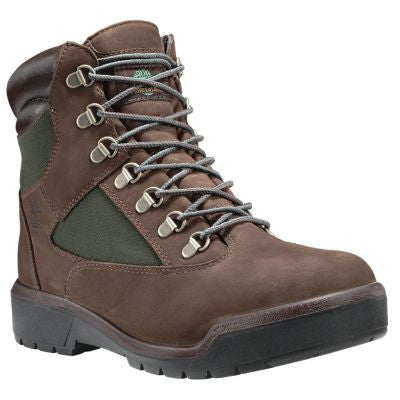 "TIMBERLAND FIELD BOOT 6"" WATER PROOF MENS BOOTS"