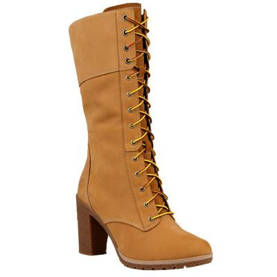 "TIMBERLAND GLANCY 10"" WOMENS BOOTS"