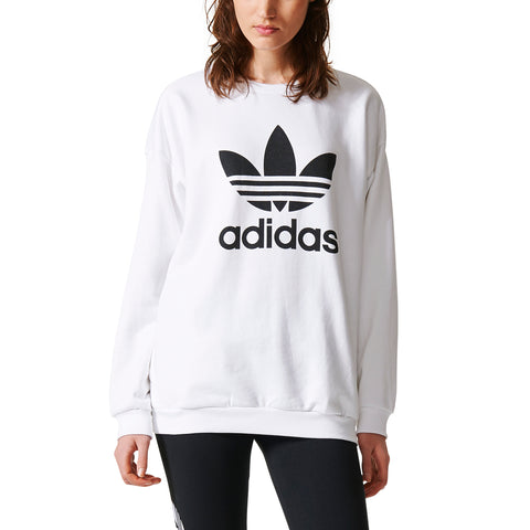 ADIDAS TREFOIL SWEAT WOMENS APPAREL