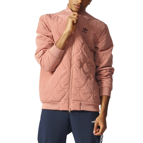 ADIDAS QUILTED BOMBER MENS APPAREL