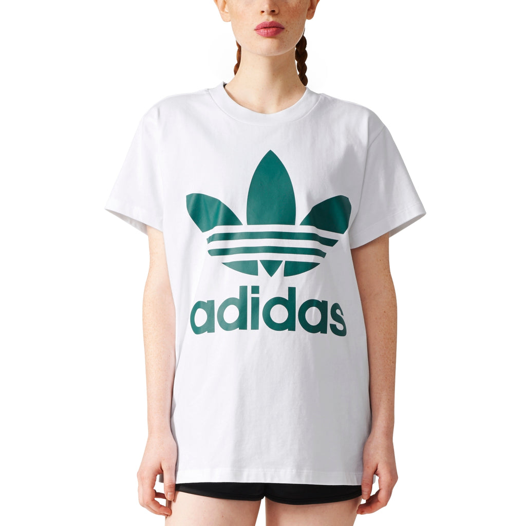 ADIDAS BIG TREFOIL TEE WOMENS APPAREL